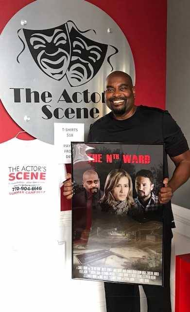 Glenn Magee, an actor who trains at The Actor's Scene in Atlanta GA, is one of the stars in Camille Brown's thriller The Nth Ward. Get it today on amazon.